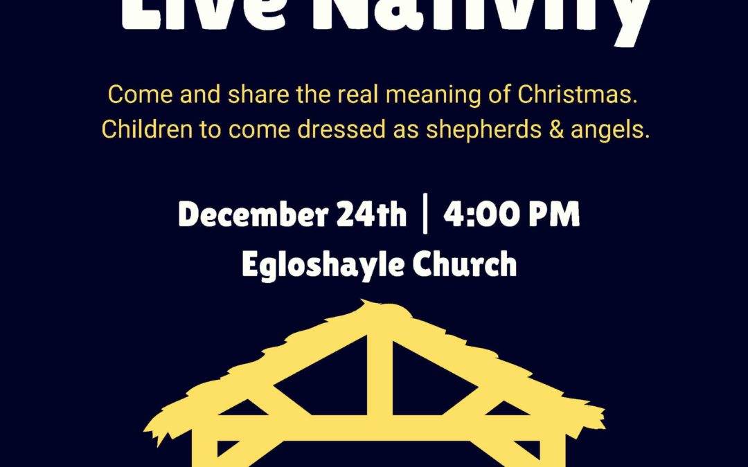 Live Nativity – 24th December 2018